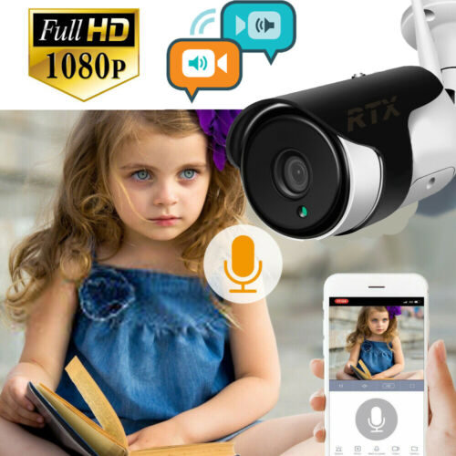 TUYA Smart Außenkamera Wi-Fi IP P2P Full-HD mit SD-Kartenaufzeichnungsfunktion