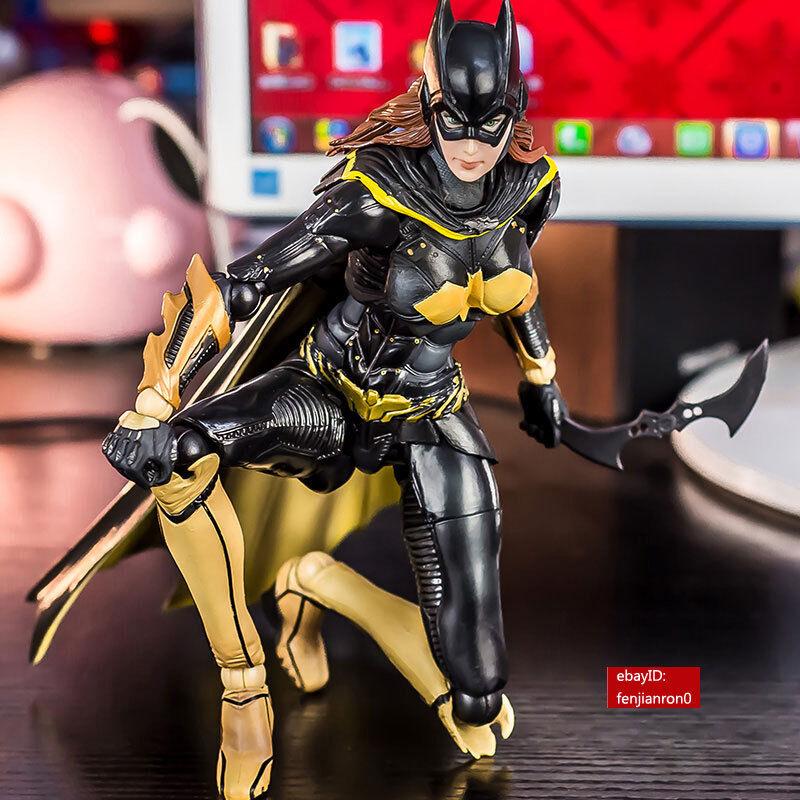 Spielen kunst kai dc comics arkham ritter batgirl actionfigur statue spielzeug fr 10 ''