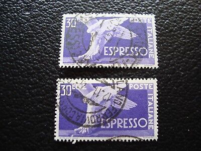 a9 Verantwortlich Italien 31 X2 Gestempelt Briefmarke Yvert Und Ausdrückliche Tellier Nr GläNzend