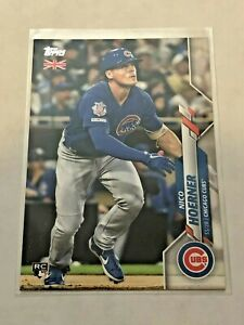 2020-Topps-Baseball-UK-Edition-Rookie-Card-Nico-Hoerner-RC-Chicago-Cubs