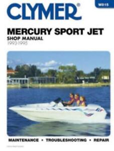 Clymer-Workshop-Manual-Mercury-90-HP-120-HP-Sport-Jet-1993-1995