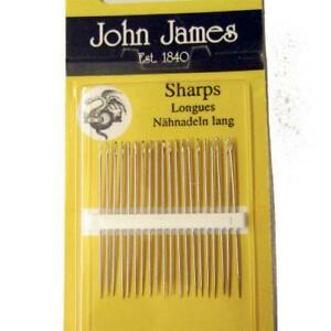 Pack of 20 Sharps Needles Size 10