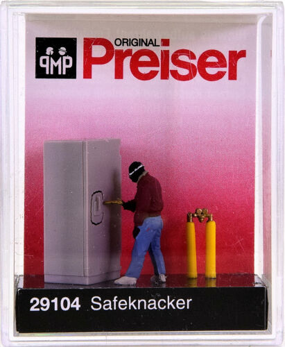 Preiser 29104 Perceur de coffres//SAFECRACKER h0