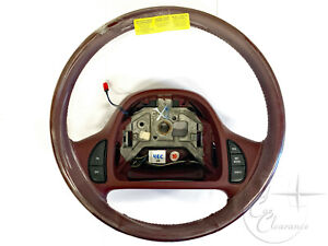 NOS-1995-Lincoln-Continental-Steering-Wheel-Currant-F5OY3600B