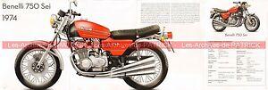 Benelli 750 Sei 1974 Fr Fiche Moto 000479 Mzgkdplc-07224817-143690524