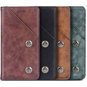 FLIP-RETRO-GENUINE-LEATHER-WALLET-TPU-SILICONE-CASE-COVER-SHELL-FOR-XIAOMI-HTC