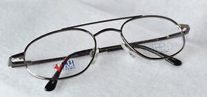 4f46e3d8424 Image is loading SAFETY-FRAME-Titmus-T3075-TR3075-Eyeglasses-Frames-Chrome-