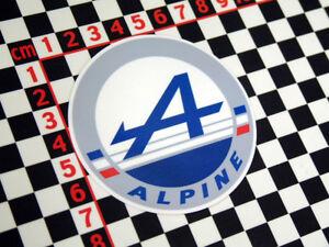 Details about Renault Alpine Sticker - Aufkleber A310 GTA V6 A610 Turbo