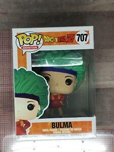 Funko Pop Vinyl DRAGONBALL Bulma #707 H03