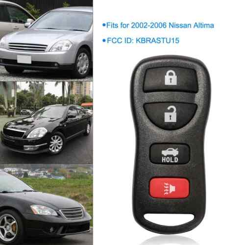 2 for Nissan Maxima Altima 2002-2006 Keyless Entry Remote Key Fob Replacement
