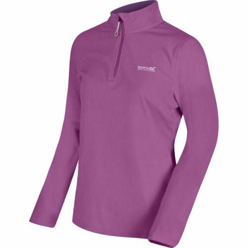 Regatta Femme kenger Half Zip Overhead Soft Fleece Pull Pullover Sweater Top