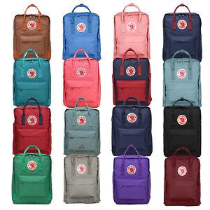 Fjaellraeven-Kanken-Rucksack-Schule-Sport-Freizeit-Trend-Tasche-Backpack