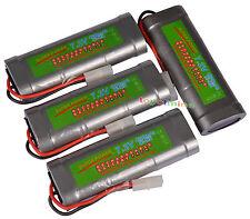 4x 7.2V 4600mAh Ni-MH batería recargable RC Tamiya