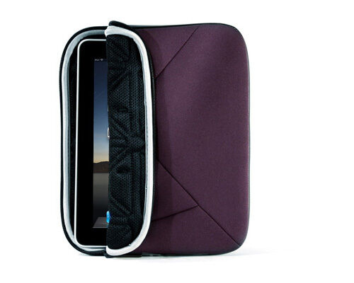Targus A7 Sleeve For iPad 3 2 1 Plum,TRI CELL CUSHION, WEATHER RESISTANT