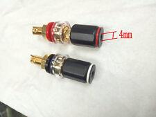 2PCS copper Binding Post for Speaker 4mm Banana plug connectors