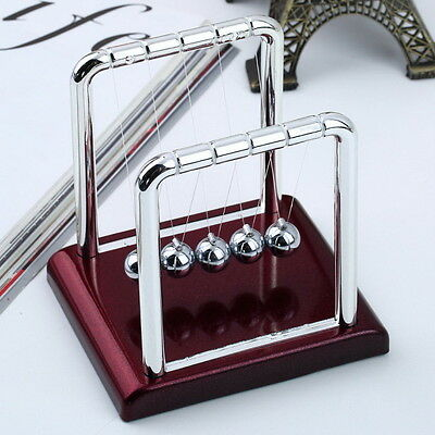 Newton's Cradle Steel Balance Balls Desk Physics Science Pendulum Desk Toy LK