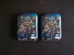 2-X-Topps-Slam-Attax-10th-Edition-Trading-Card-Mini-Tins-Limited-Edition-Card