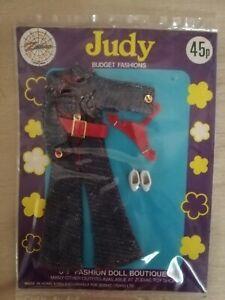 VHTF-Vintage-Clone-NRFB-Denim-Jumpsuit-Set-Fits-Dawn-Pippa-Doll-UK