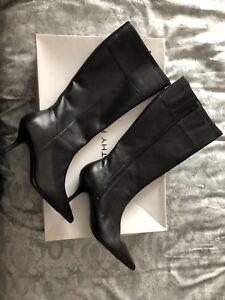 Ladies Dorothy Size 7 Perkins Leather Boots gqfa5Awf