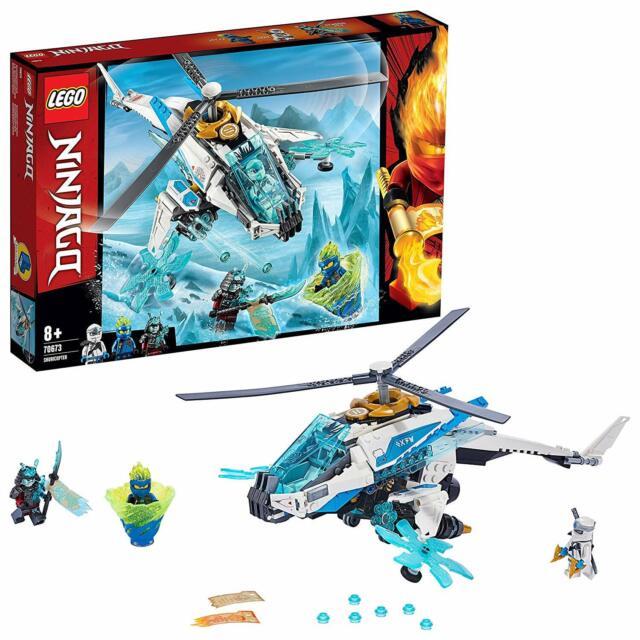 LEGO Ninjago 70673 - Shuricoptero. Helicóptero especial. Más de 8 años.