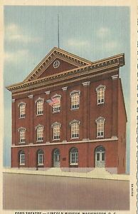 Ford-Theatre-Abraham-Lincoln-Museum-Postcard-1935