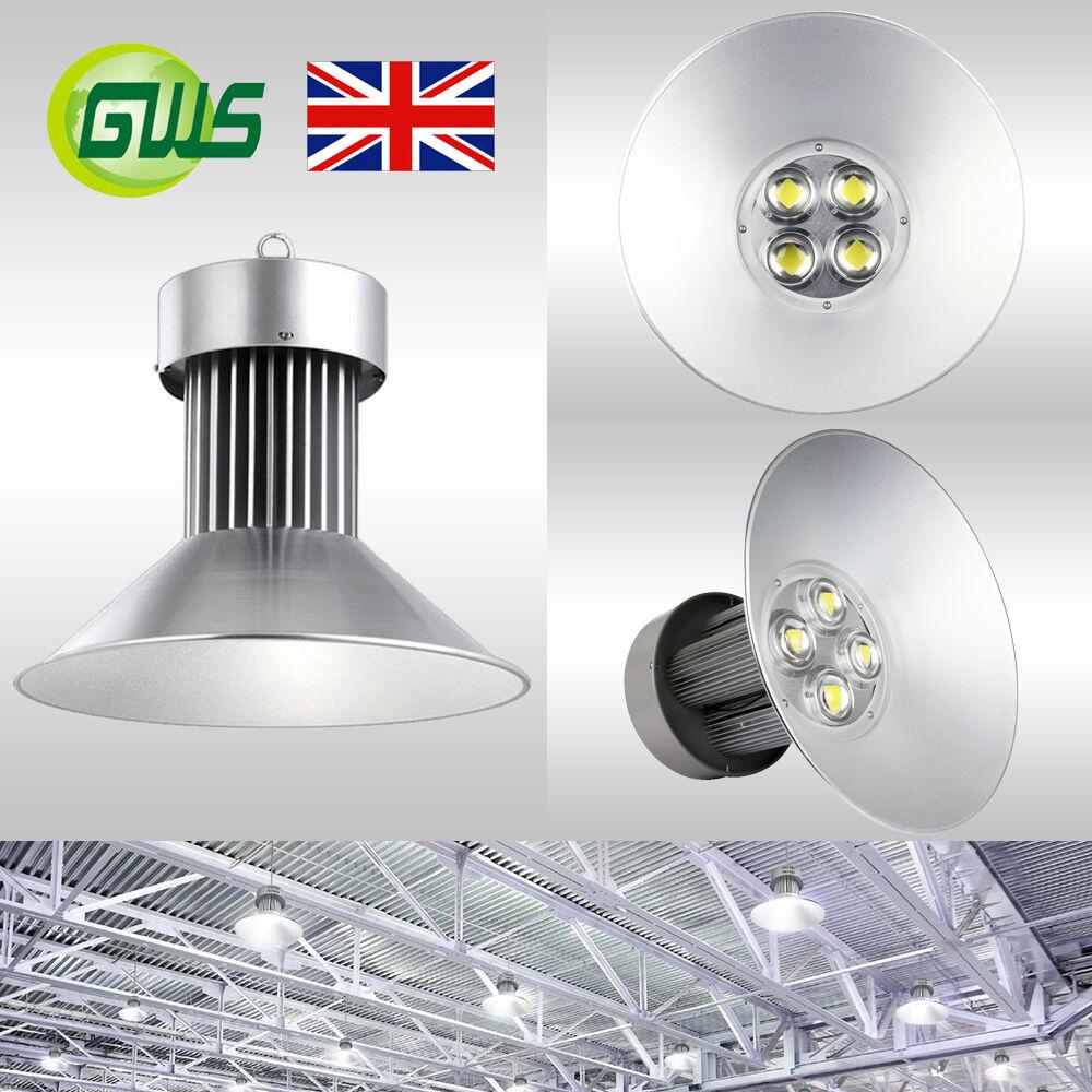 Luz LED de alta Bahía 50 W 100 W 150 W 20 W Comercial Industrial Almacén Fábrica