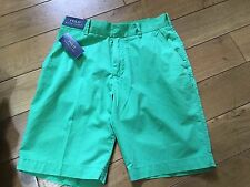 Bnwt Ralph Lauren Men Golf Casual Shorts Vineyard Green Size 30 BNWT