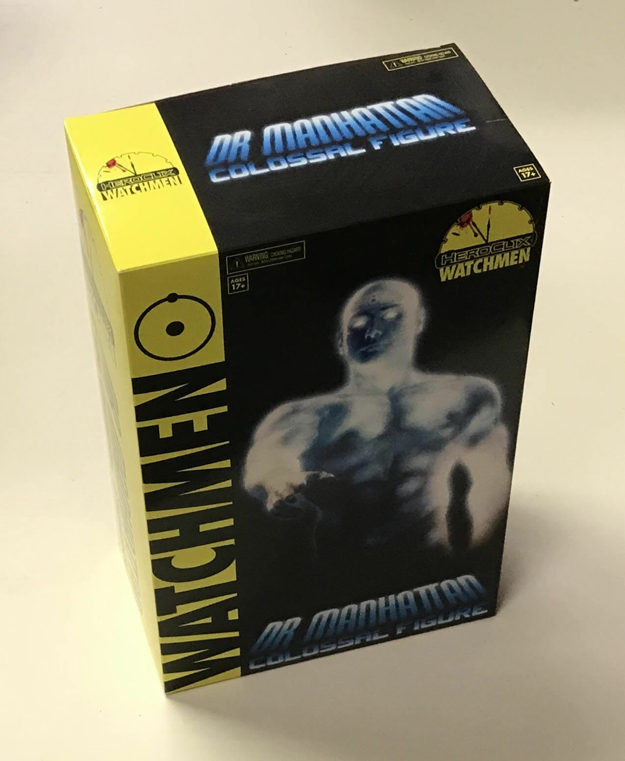 Heroclix Dr. Manhattan 1200 pt. Colossal Figure READ NEW Watchmen