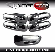 Dodge Ram 02 03 04 05 06 07 08 Chrome 4 Door Handle Cover + Chrome Tailgate