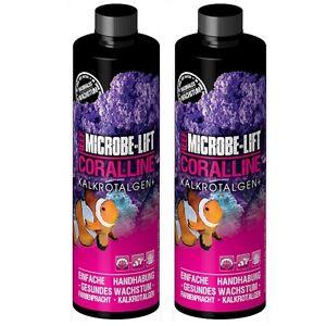 2 X Accélérateur d'algues corallines Microbe Lift 473 ml Kalkalgen Plus (946 ml)