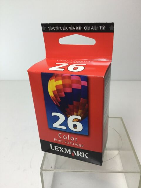 NEW GENUINE Lexmark 26 Tri-Color Ink Cartridge -Free Shipping!!