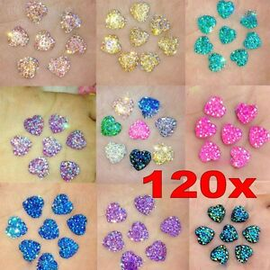 120Pcs-Resin-Heart-AB-Flatback-Scrapbooking-For-Phone-Wedding-Jewelry-DIY-Craft