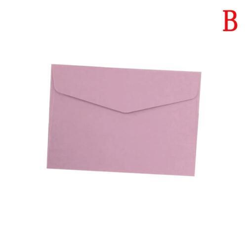 /&Hot 10Pcs Candy Color Paper Envelope Cute Mini Envelopes Vintage Style