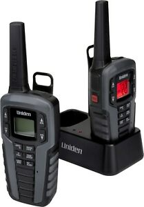 Uniden SX377-2CKHS FRS Two-Way Radio Walkie Talkies Waterproof Floating Design