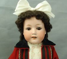 "Spectacular Antique Bisque Heubach Sunshine Doll Made for Sears Roebuck 24"" tall"