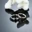 Anello-Coppia-Fedi-Fedine-Fidanzamento-Amicizia-Amore-Cuore-spezzato-Love-Regalo miniatura 7