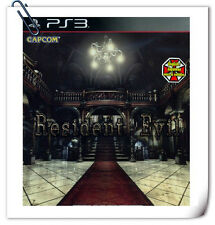 PS3 RESIDENT EVIL HD REMASTER ENGLISH 中日文版 SONY Action Adventure Games Capcom