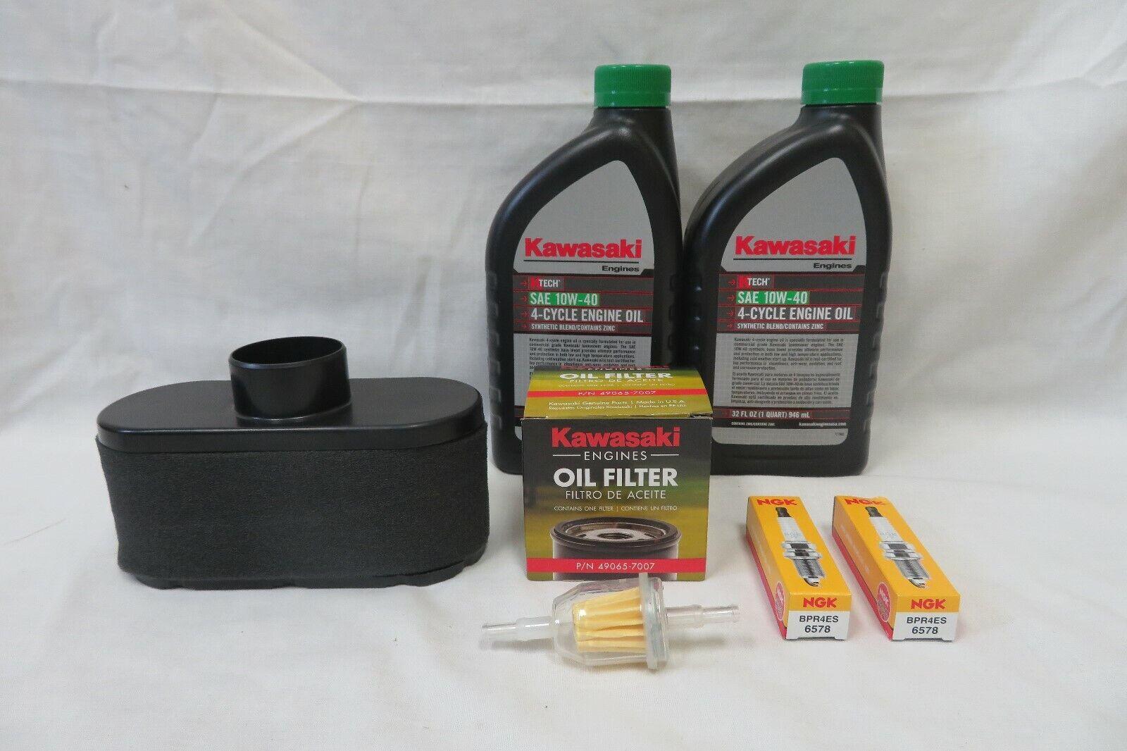 Kit de servicio de mantenimiento Kawasaki para FR651V, FR691V, FR730V y todos FS Series