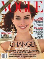 Vogue Magazine January 2009 1/09 Anne Hathaway B-3-1