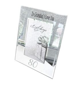 Image Is Loading 80th Birthday Gifts Personalised Frame Photo Picture Men