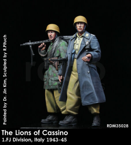 1.FJ Division Italy 1943-45 1//35 The Lions of Cassino 2 figures