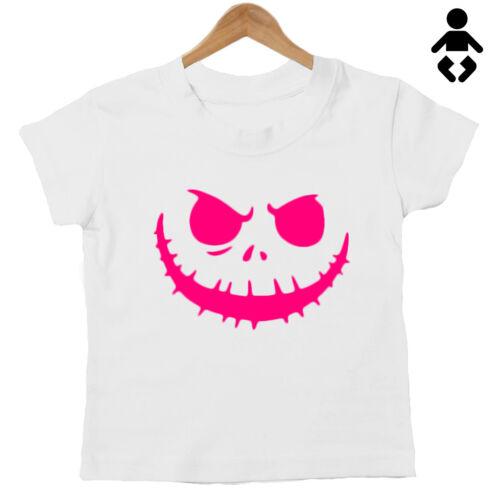 unisex Top Dress Up BABIES Pumpkin Face BABY HALLOWEEN Cute costume T Shirt