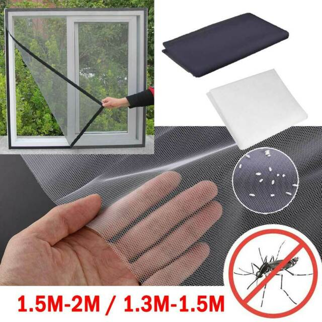 UK 2.5M Large Magnetic Mosquito Door Screen Mesh Nets Anti Bugs Insect Curtain