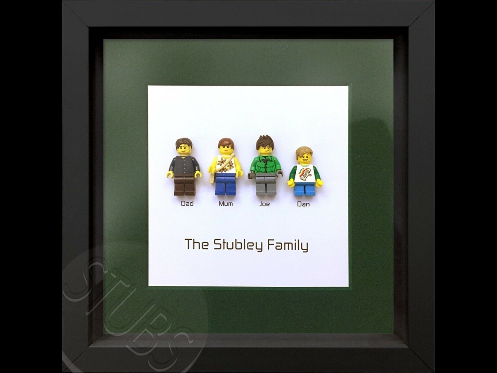 Lego Family Personalised Minifigure Picture Frame