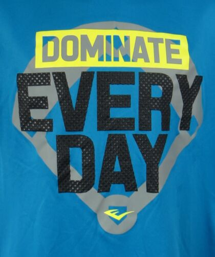 Everlast Boys T-Shirt New Dominate Every Day Baseball Blue 8 18//20