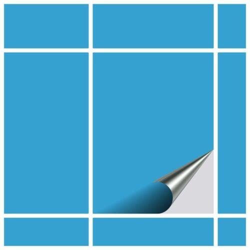 Fliesenfolie Lichtblau FoLIESEN Fliesenaufkleber für Küche und Bad