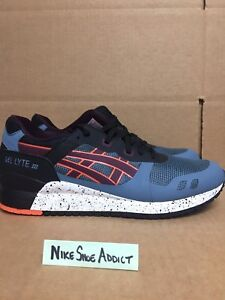 quality design 24098 e63be Details about Asics Gel Lyte III 3 NS Blue Mirage/Rioja Red HN6D2-4652  Speckled Black kith