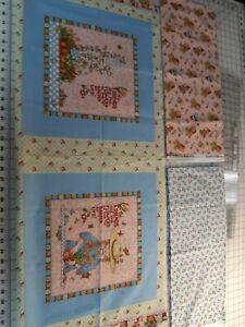 Mary-Englebreit-Friends-Flowers-Garden-3-Fabrics-Pillow-border-3-Yards-total-HT