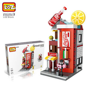 LOZ-Cafe-Beverage-Shop-Building-Bricks-Mini-Block-Street-View-For-Children-Kids