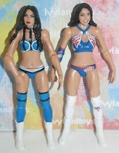 WWE The IIconics Mattel Basic Action Figure Nikki Brie Battle Packs Series 61